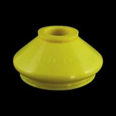 Маншон за шарнир универсален 15x38x26 mm жълт - тип 1
