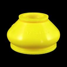 Маншон за шарнир универсален 17x33x26 mm жълт - тип 1