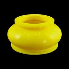 Маншон за шарнир / накрайник 22x30x20 mm жълт - тип 1