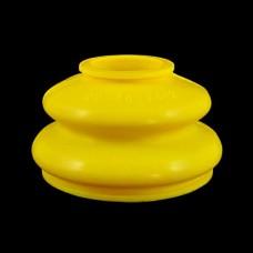 Маншон за шарнир / накрайник 22x48x34 mm жълт - тип 2